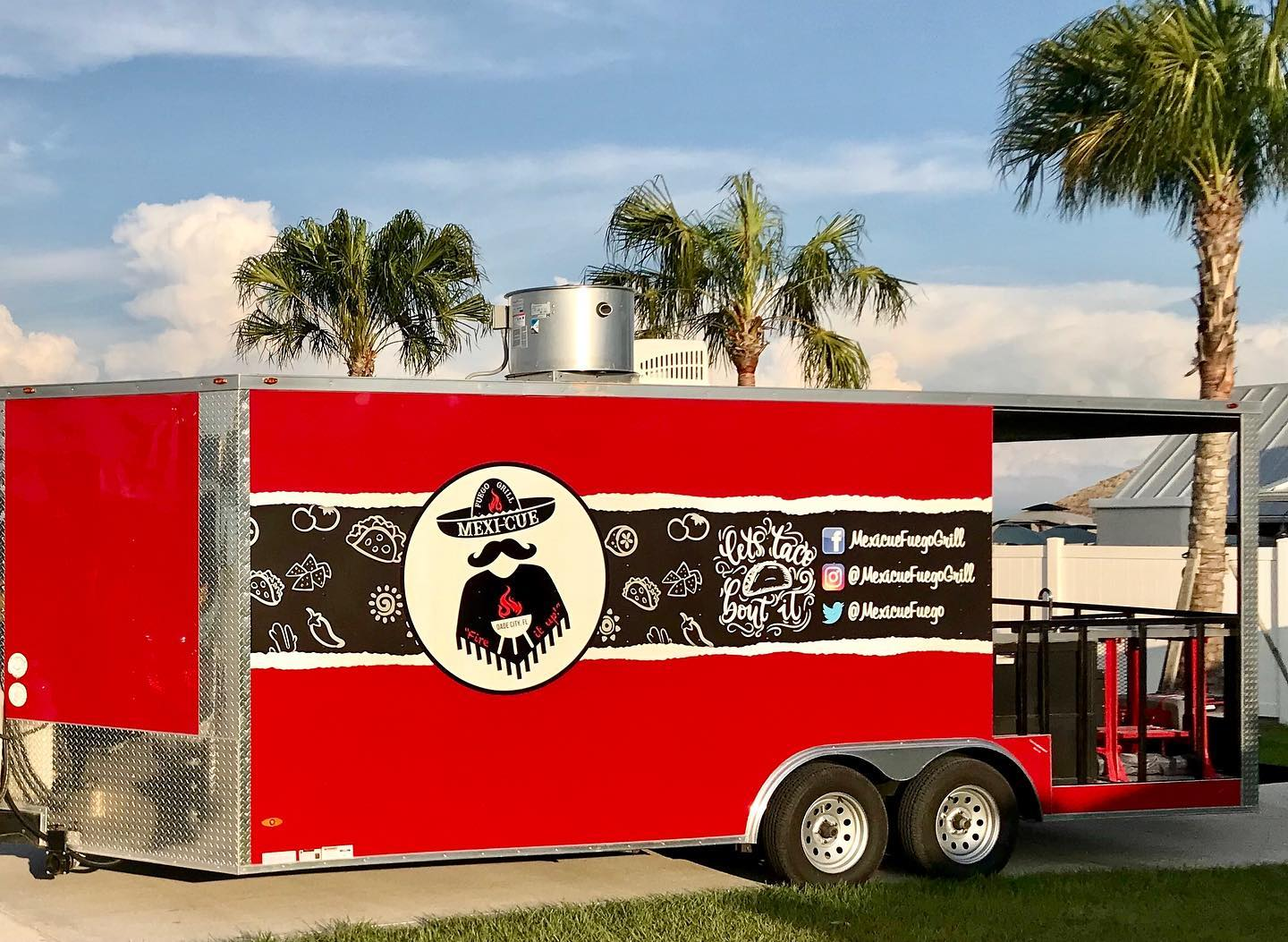 Mexican Food Near Me. A photo the Mexi-Cue Truck